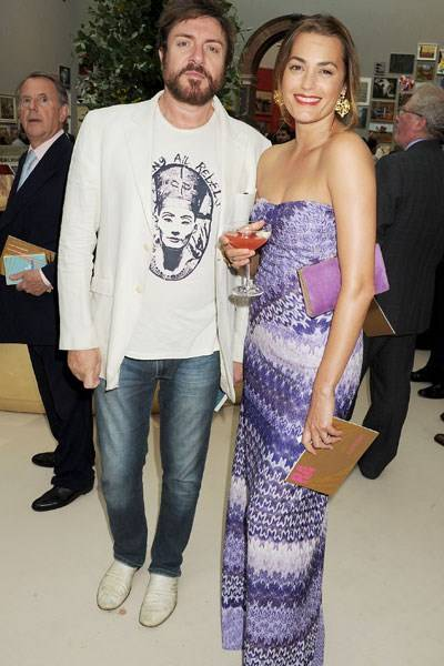 Simon and Yasmin Le Bon
