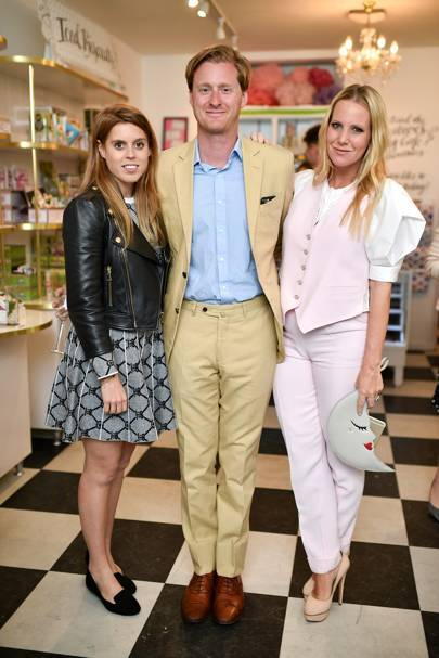 Princess Beatrice, Tom Naylor-Leyland and Alice Naylor-Leyland