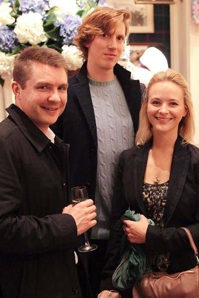 Tom Brown, Freddy Van Zevenbergen and Natalia Palys