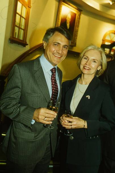 John Suchet and Mrs John Suchet