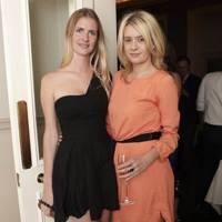 Chloe Delevingne and Victoria Toft Christensen