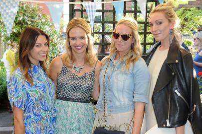 Juliet Angus, Marissa Hermer, Alice Naylor-Leyland and Olivia Buckingham