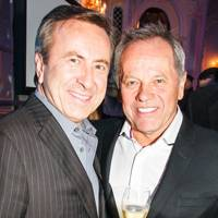 Daniel Boulud and Wolfgang Puck