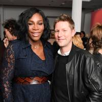 Serena Williams and Christopher Bailey