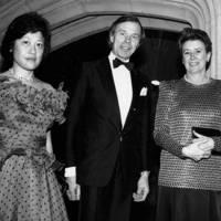 Lady Miller, Sir Geoffrey Shakerley and Baroness von Stauffenberg