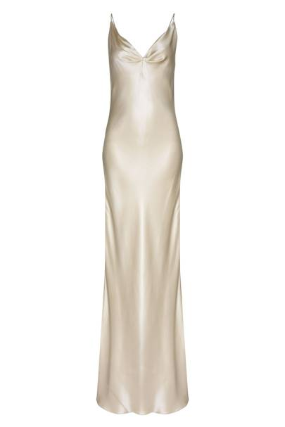 Satin Gown, £1,820, By Jenny Packham
