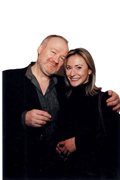 Vince Power and Anouschka Menzies