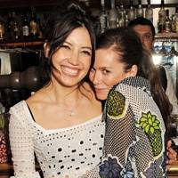 Daisy Lowe and Anna Friel
