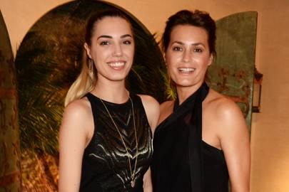 Amber Le Bon and Yasmin Le Bon