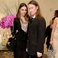 Amber Le Bon and Mark Fast