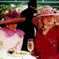 Mrs William Lese and Mrs Coco Blaffer