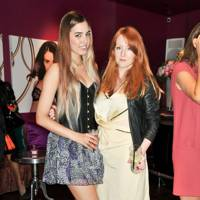 Amber Le Bon and Sarah Shotton