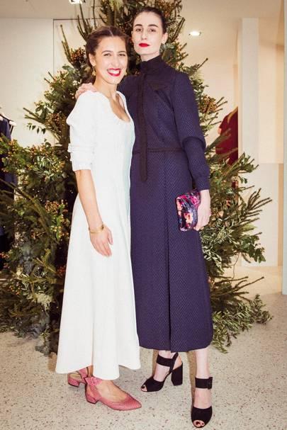 Emilia Wickstead and Erin O'Connor
