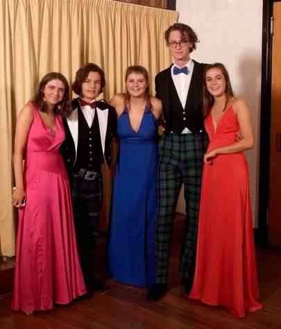 Cathy Bradshaw, Miles Kinge, Hattie Barne, Robert Bailey and Rosie Gow