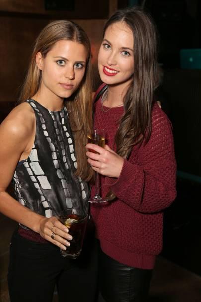 Irene Forte and Hannah Watson