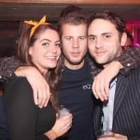 Lavinia Stewart-Brown, Sam Zappi and Max Hooper