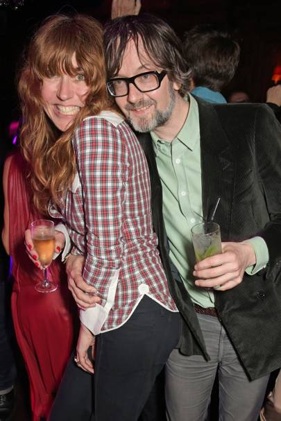 Kim Sion and Jarvis Cocker