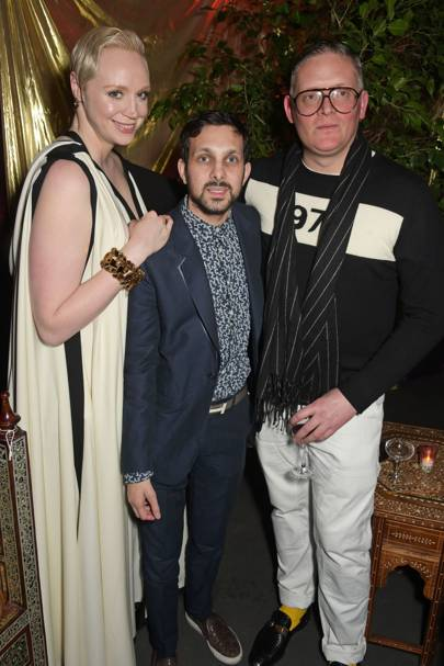 Gwendoline Christie, Dynamo and Giles Deacon