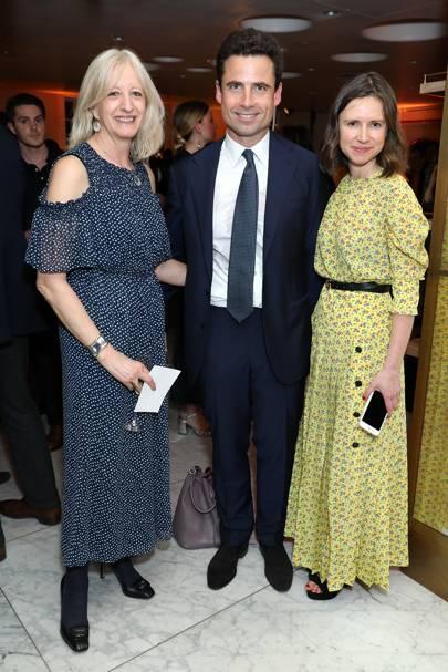 Patricia Stevenson, Leo Fenwick and Sophie Goodwin