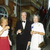 The Hon Mrs Peter Ward, Vincent Poklewski-Koziell and Mrs Vincent Poklewski-Koziell