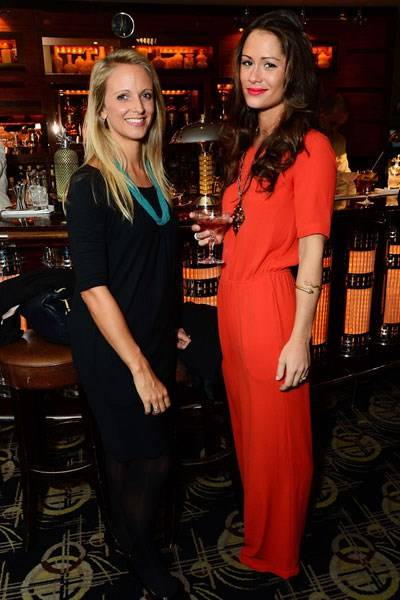 Amy Perkins and Alexandra Bowes-Lyon