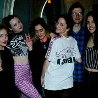 Leanne Warren, Lauren Saffery, Kelly Anna,  Laetitia Bocquet, Bradley Bell and Violetta Thalia