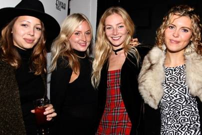 Daisy Marlow, Sophie Scrimgeour, Clara Paget and Georgia Lewis Anderson