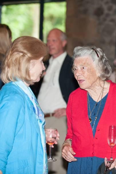 Rosamunde Picher and Jane Swan