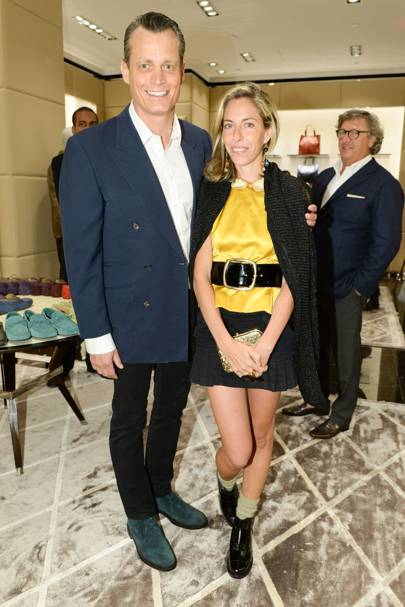 Matthew Mellon and Nicole Hanley-Mellon