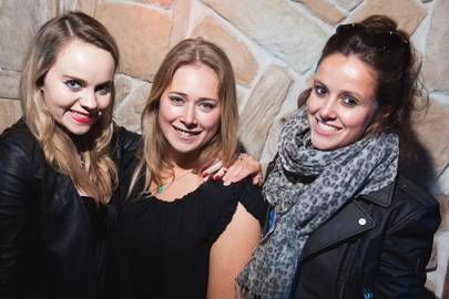 Anna Lund, Anne-Marie Blokker and Sophie Hunt