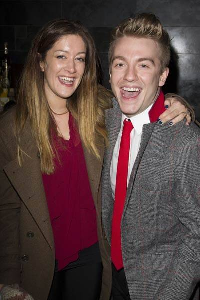Julie Atherton and Steven Webb