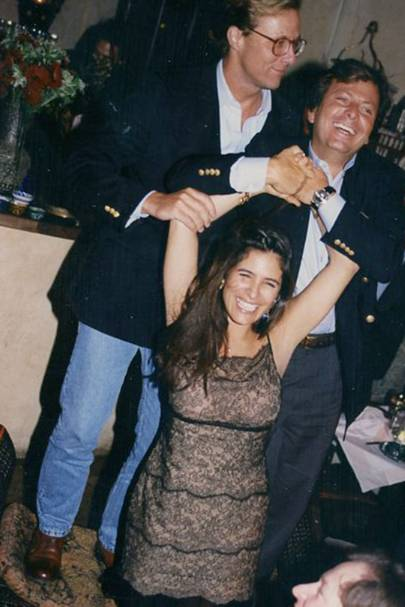 Basil Mavroleon, Lina Botero and Andres Piedrahita