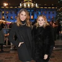 Amber Le Bon and Rosie Fortescue