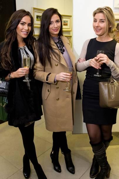 Kayleigh Ann, Katrina Stevens and Lena Kiourt