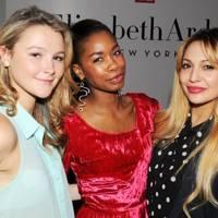 Amber Atherton, Tolula Adeyemi and Zara Martin
