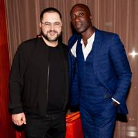 Shervin Pishevar and Oswald Boateng