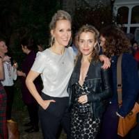 Clemency Burton-Hill and Lisa Dwan