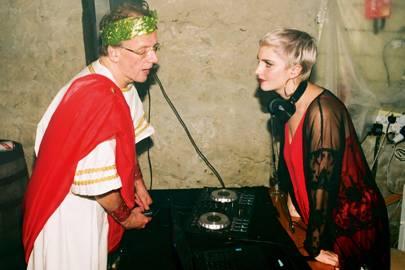 Tim Johnston and Katharine Doyle
