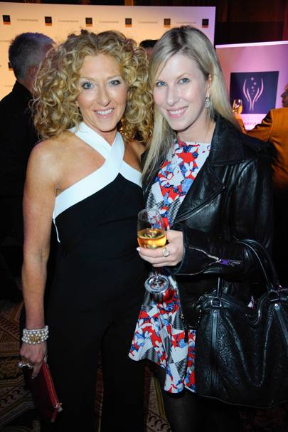 Kelly Hoppen and Karoline Copping