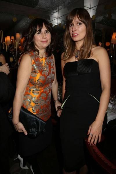 Alexandra Shulman and Seda Domanic