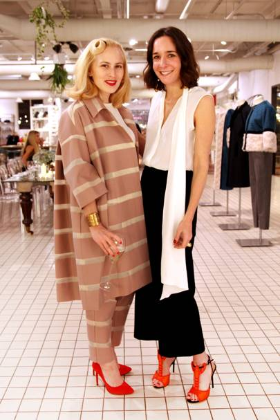 Charlotte Dellal and Serafina Sama