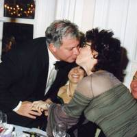 Rick Hayward and Ruby Wax