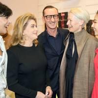 Inès de la Fressange, Catherine Deneuve, Bruno Frisoni, Tilda Swinton and Kwai Lun-Mei