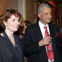Anna Chancellor and Kamlesh Sharma