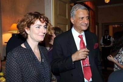 Anna Chancellor and Kamlesh Sharma