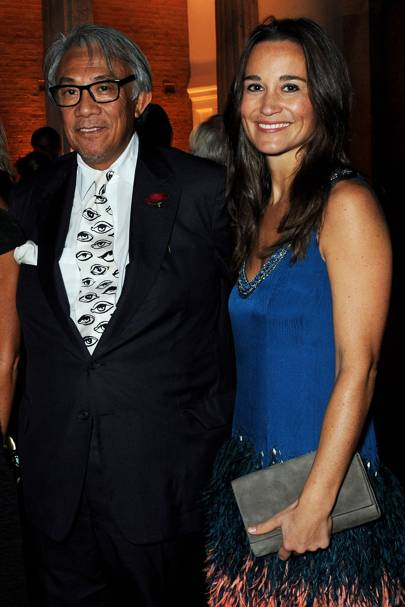 Sir David Tang and Pippa Middleton, 2013