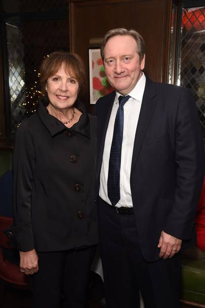 Dame Penelope Wilton and Neil Dudgeon