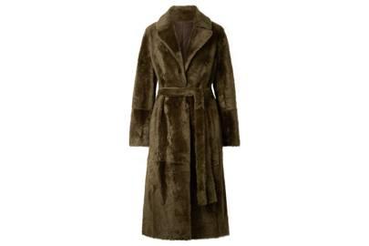 Yves Salomon coat