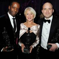 Adrian Lester, Dame Helen Mirren and Rory Kinnear