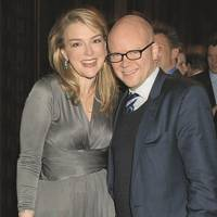 Lady Dalmeny and the Hon Toby Young
